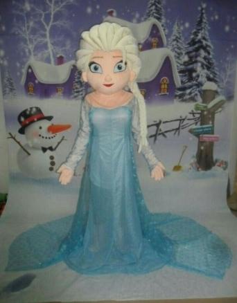 Elsa-mascotte