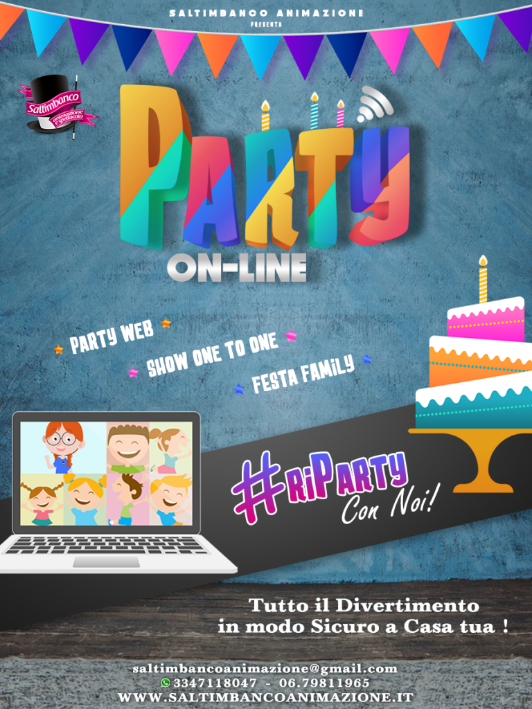 PARTY-ON-LINE--FESTE-BAMBINI