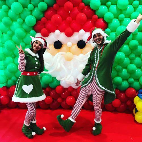 Elfi di Babbo Natale-natale magico