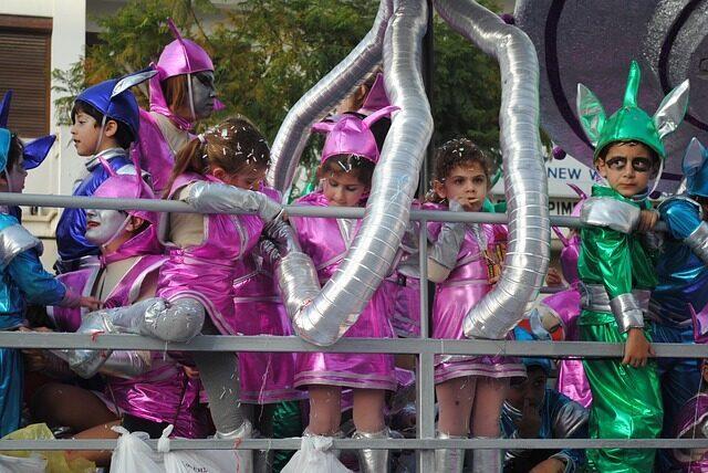 Festa di Carnevale-bambini