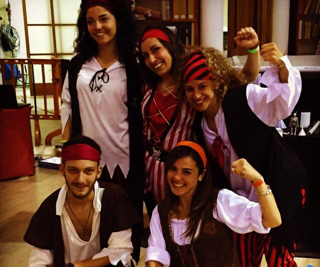 festa di Carnevale-pirati