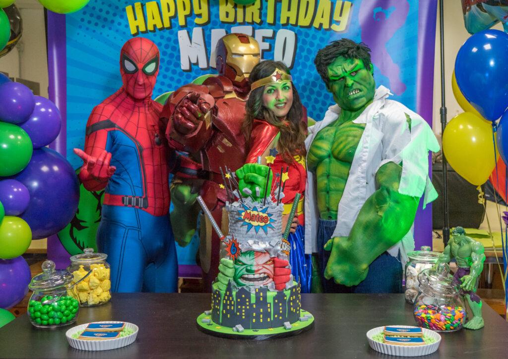 Festa supereroi- eventi per bambini